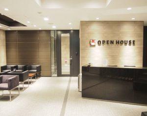 オープンハウス本社受付